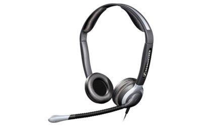 SENNHEISER CC 550 hodetelefon m. mikrofon