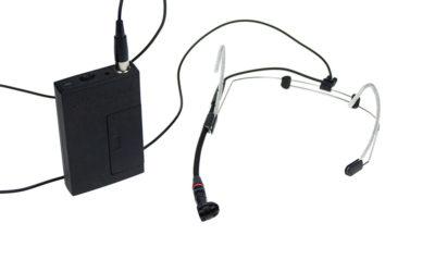 Hodebøylemikrofon, mod. 1 med VA-sender
