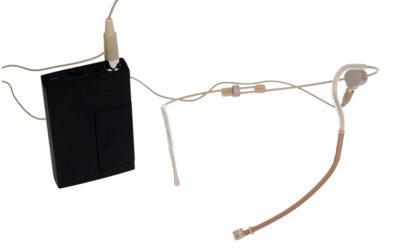 Hodebøylemikrofon, mod. 11 med VA-sender