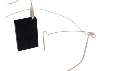Hodebøylemikrofon, mod. 3 med VA-sender