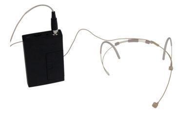 Hodebøylemikrofon, mod. 5 med VA-sender