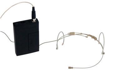 Hodebøylemikrofon, mod. 7 med VA-sender