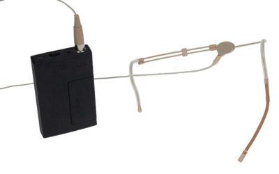Hodebøylemikrofon, mod. 8 med VA-sender