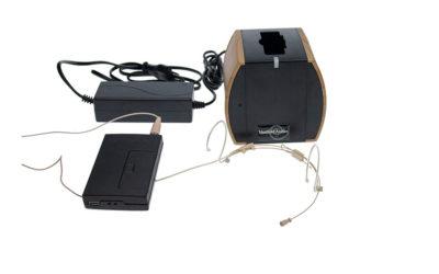 Hodebøylemikrofon MINI1 med sender og lader